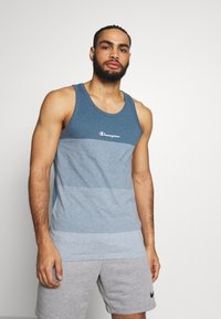 Champion - ROCHESTER ECO SOUL SHIRT - Top - light blue - 0