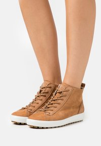 ECCO - SOFT  - Ankle boot - camel - 1