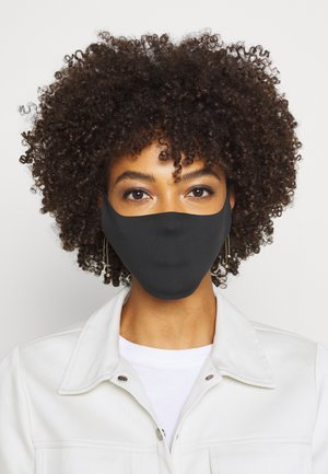 SEAMLESS FACE MASK 10 PACK - Community mask - black