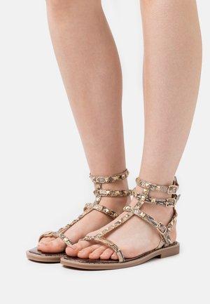 COROL - Sandals - beige