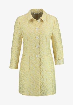 Short coat - yellow