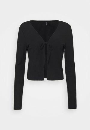 ONLNELLA CARDIGAN  - Cardigan - black