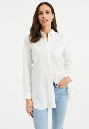 MET POFMOUWEN - Button-down blouse - white
