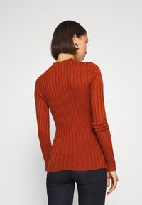 Even&Odd - Wide rib jumper - Trui - brown - 2