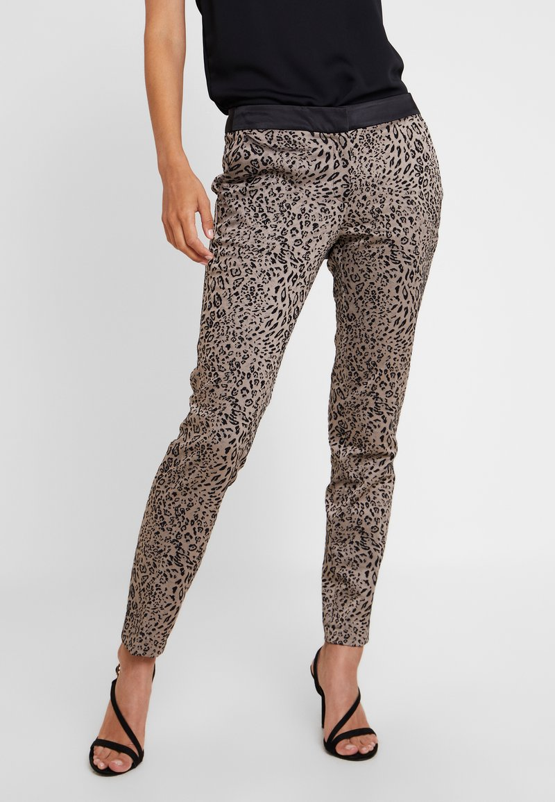 comma - Trousers - taupe