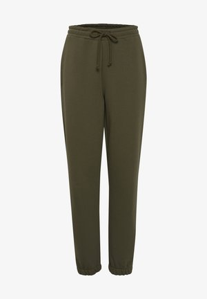 Tracksuit bottoms - ivy green