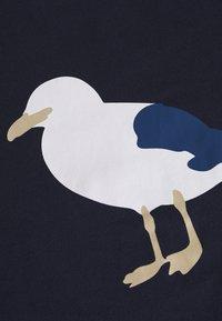Cleptomanicx - GULL - Print T-shirt - dark navy - 2