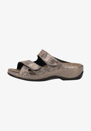 Mules - bronze