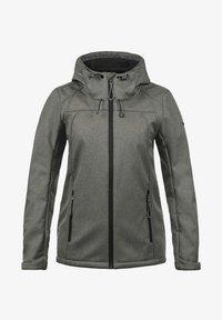 SOLEY - Soft shell jacket - grey melange