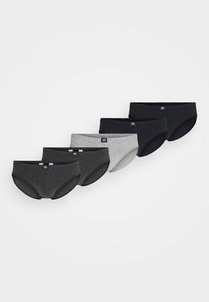 5 PACK - Kalhotky - grey/dark/melange