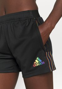 adidas Performance - TIRO PRIDE - Pantalón corto de deporte - black - 5