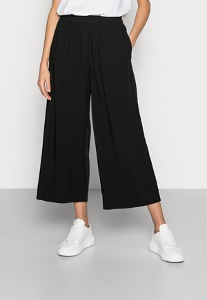 FLOATY PANTS - Trousers - black