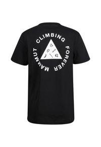 Mammut - MASSONE MEN - T-shirt z nadrukiem - black prt - 3
