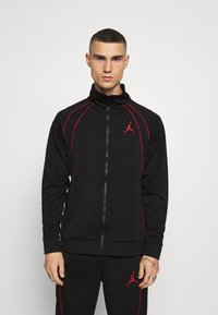 Jordan - JUMPMAN AIR SUIT - Kevyt takki - black/gym red - 0