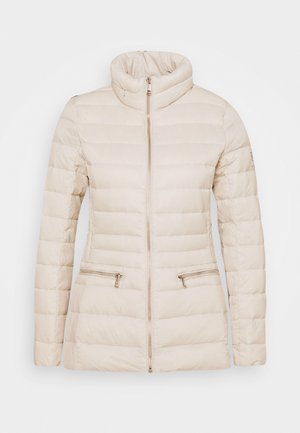 SOFT COMBO MIXED QUILTS - Down jacket - light beige