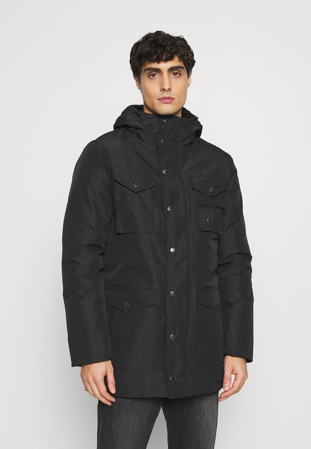 HARRISS - Winter coat - black