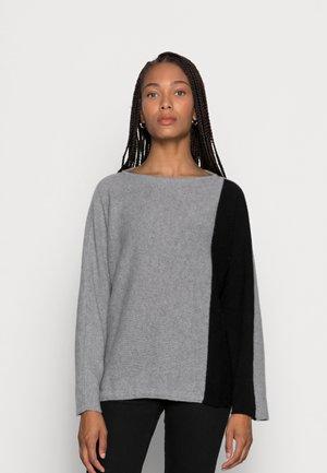 ADELE - Trui - grey calce/black ardesia