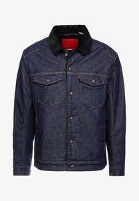 Levi's® Engineered Jeans - TRUCKER - Farkkutakki - dark blue denim - 4