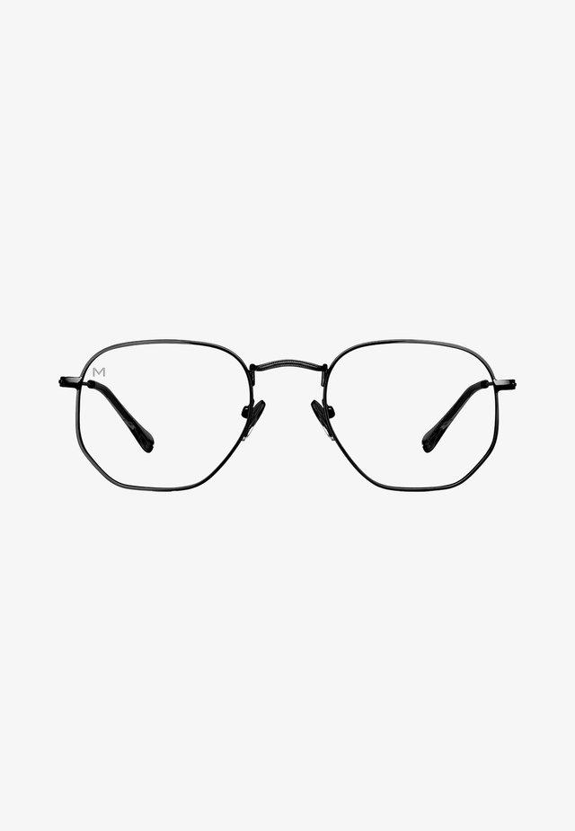 EYASI BLUE LIGHT - Sunglasses - black