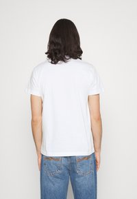 Calvin Klein Jeans - MONOTRIANGLE TEE - T-shirt med print - bright white - 2