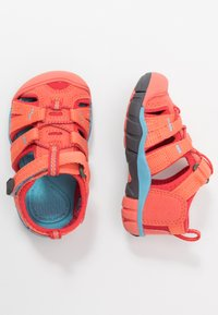 Keen - SEACAMP II CNX - Chodecké sandály - coral/poppy red - 0