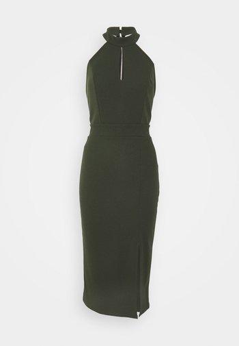 JAYNE LEE HALTER NECK DRESS - Cocktail dress / Party dress - khaki