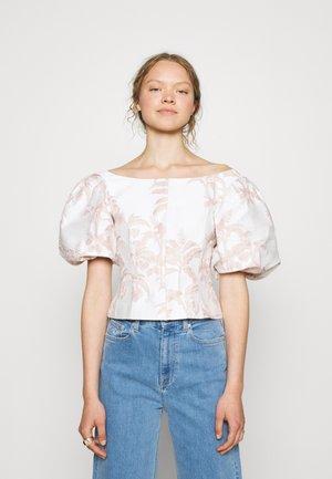 RIVERR - T-shirt print - white