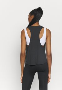 Under Armour - PROJECT ROCK IRON TANK - Top - black - 2