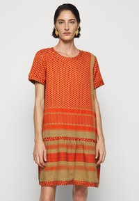 CECILIE copenhagen - DRESS - Day dress - orange - 0