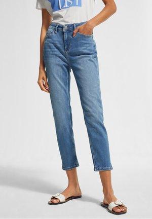 HYPERSTRETCH - Straight leg jeans - blue