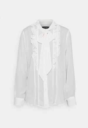 ANARIATA - Button-down blouse - mascarpone cream