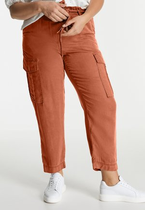 Cargo trousers - mocca brown