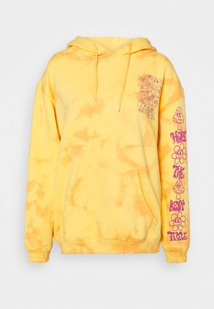 HAVE THE BEST TIME TIE DYE HOODY - Hoodie - orange