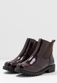 Vero Moda - VMGLORIAFEA - Ankle boots - zinfandel - 4