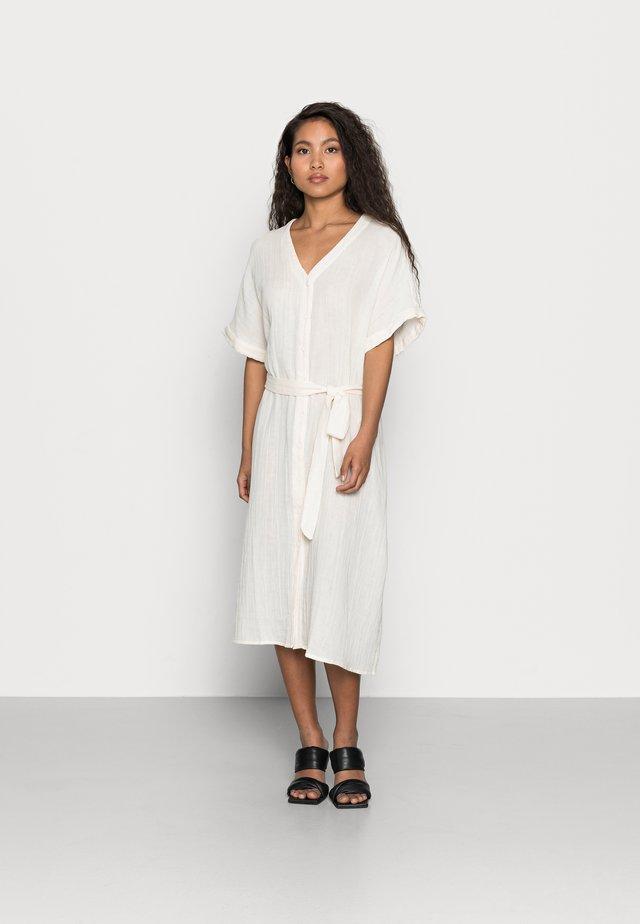 YASWRIKLA LONG DRESS - Korte jurk - eggnog