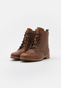 Timberland - SOMERS FALLS LOW LACE UP - Schnürstiefelette - rust - 2