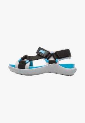 WOUS - Walking sandals - black