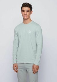 BOSS - Long sleeved top - light grey - 0