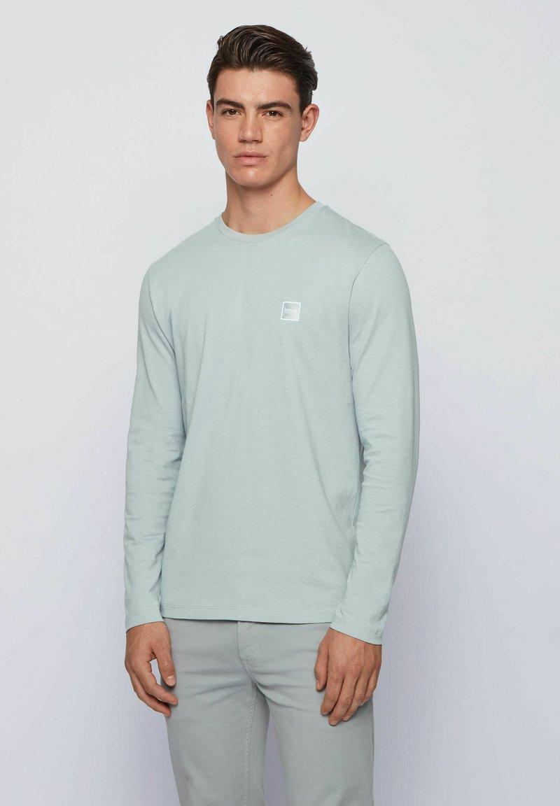 BOSS - Long sleeved top - light grey