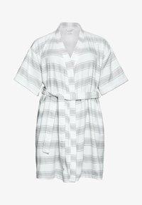 Sheego - Dressing gown - gestreift - 4