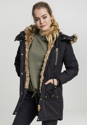 LADIES IMITATION  - Parka - black