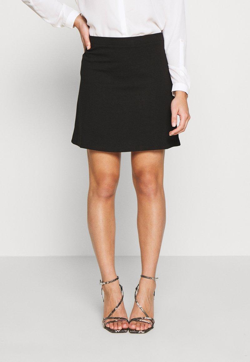 Even&Odd Petite - A-line skirt - black