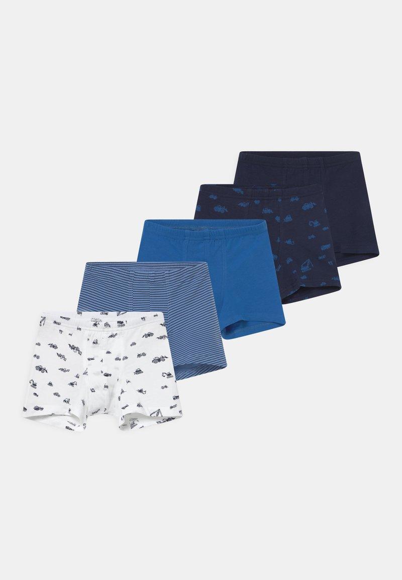 Schiesser - SHORTS 95/5 5 PACK - Pants - dark blue