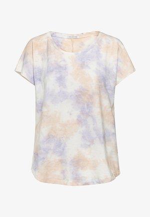 Print T-shirt - lavander