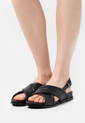 Sandalias - noir
