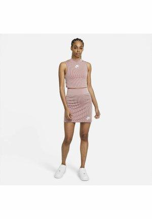 AIR TANK  - Top - pink glaze/white