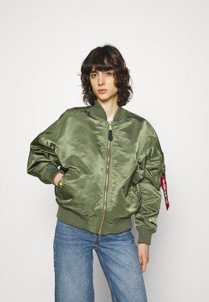 Bomber bunda - sage green