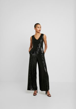 WIDE LEG - Jumpsuit - black