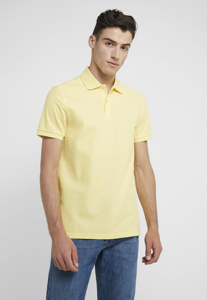 J.LINDEBERG - TROY CLEAN - Polotričko - butter yellow