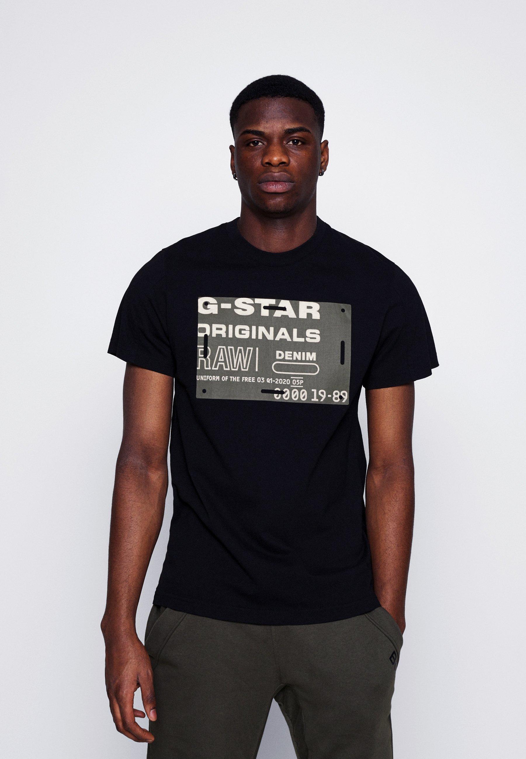 Men FLOCK BADGE GRAPHIC - Print T-shirt